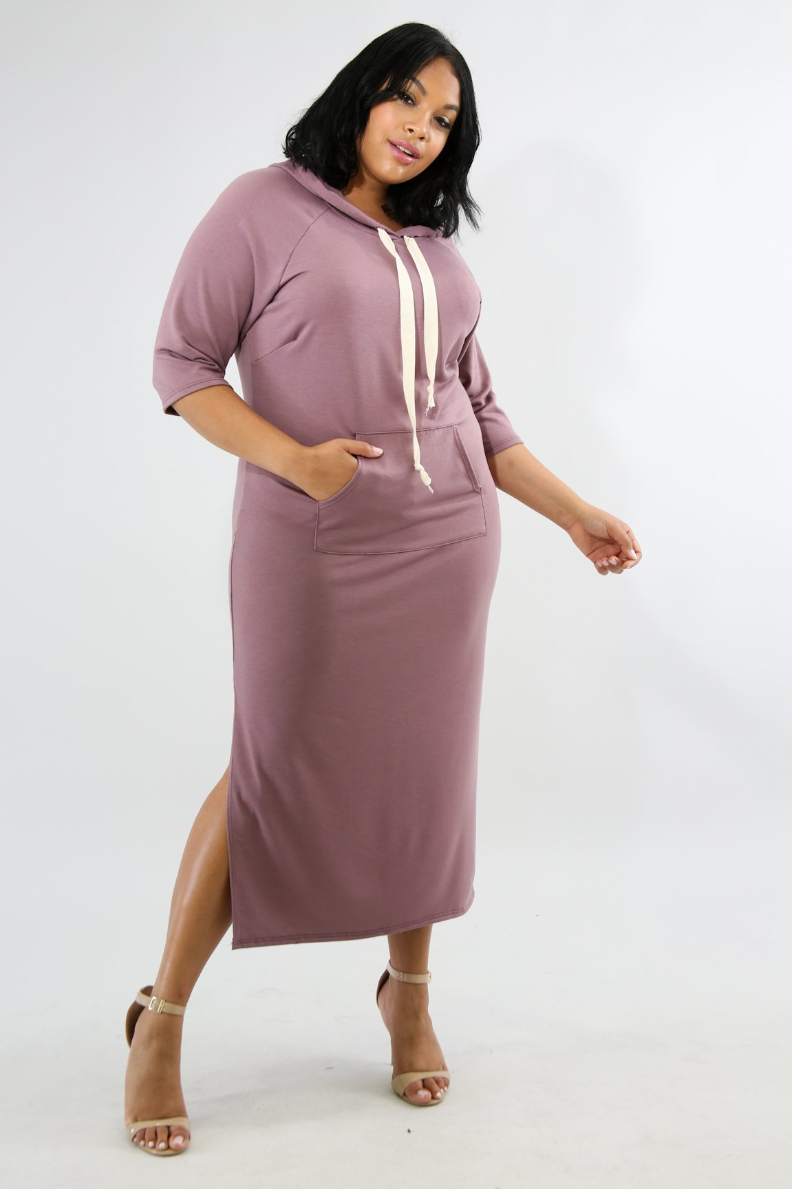 Hoodie Jersey Dress