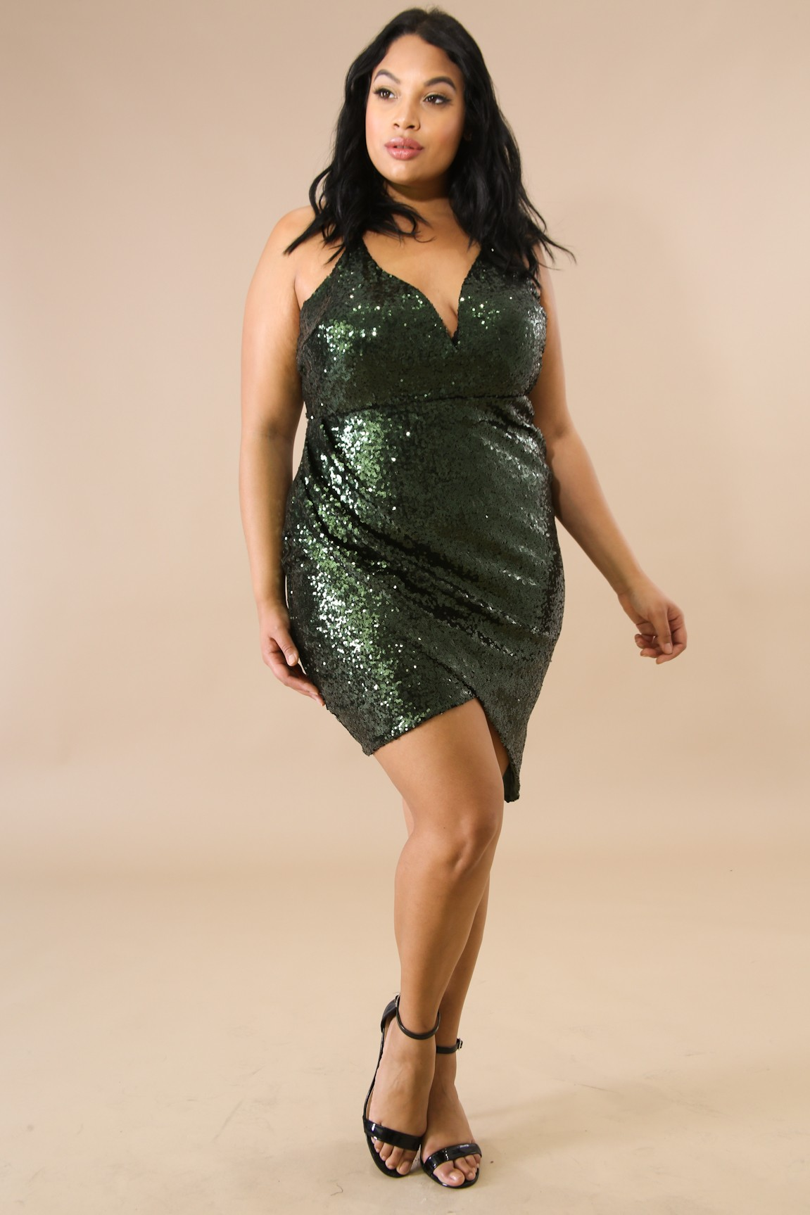 Sequin Darling Body-Con Dress