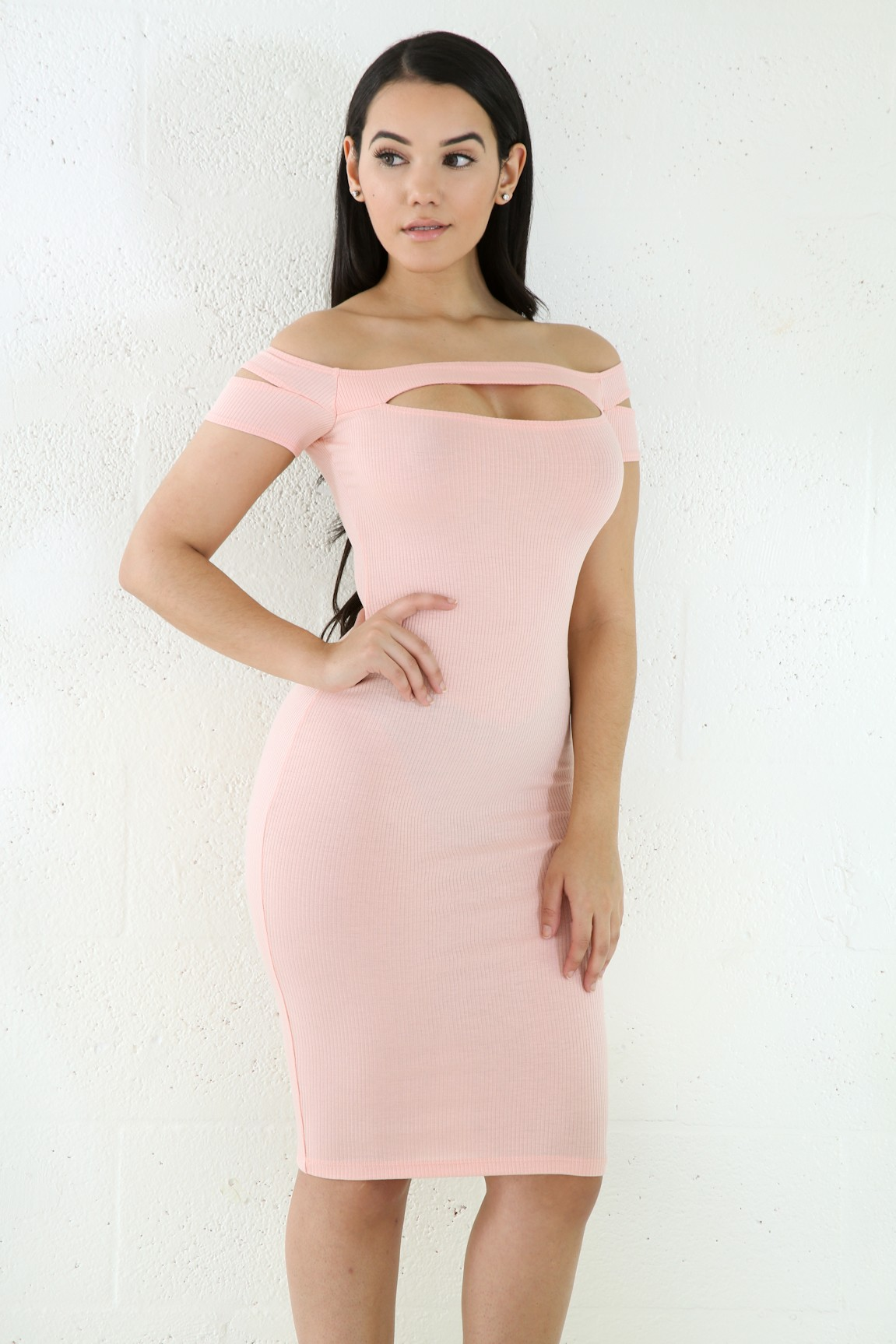 Sophisticated Midi Bodycon Dress