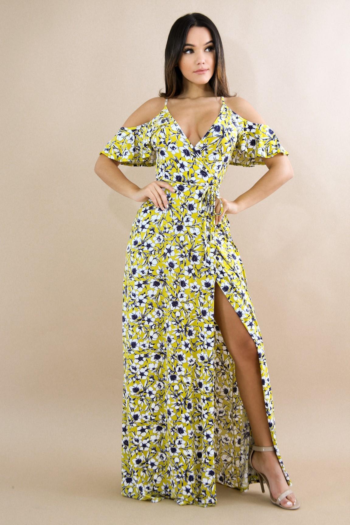 Amaryllis Flare Dress