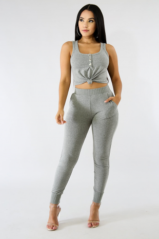 Knit Sweats Set