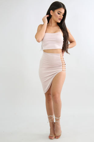 Careless Skirt Set
