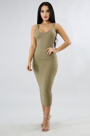 Knit Lounge Maxi Dress