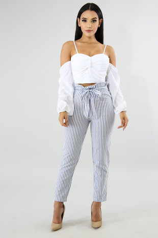 Stripe Tailor Pants