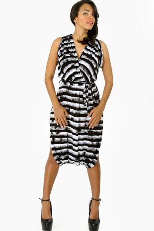 Crossover Jumper Dress