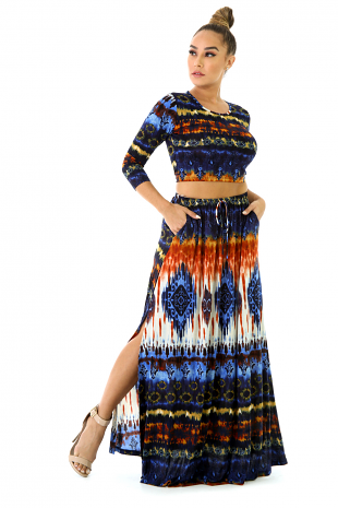Tribal Skirt Set