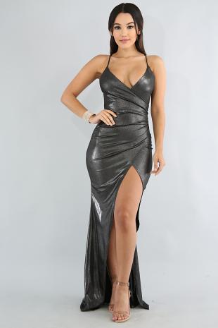 Shinny Maxi Dress