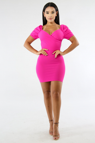 Mini Ruffle Dress