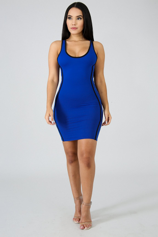 Super Side Body-Con Dress