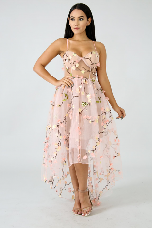Enchanted Princess Tull Maxi Dress