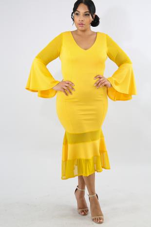 Danza Flare Dress
