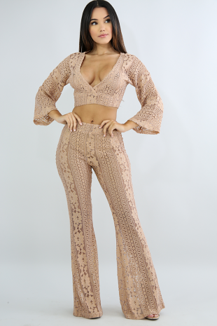 Crochet Bell Bottom Set