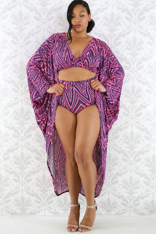 Kinetic Robe Swim Set