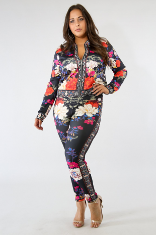 Rosas Leggings Set
