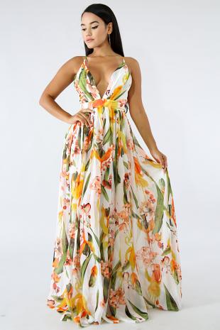 Sunny Floral Dress