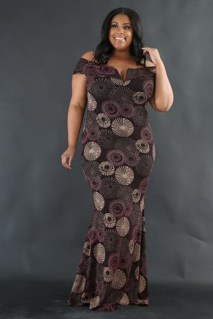 Elegant FireWork Dress