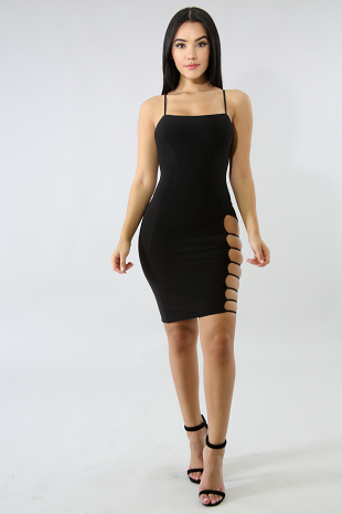 Ladder Sexy Body-Con Dress