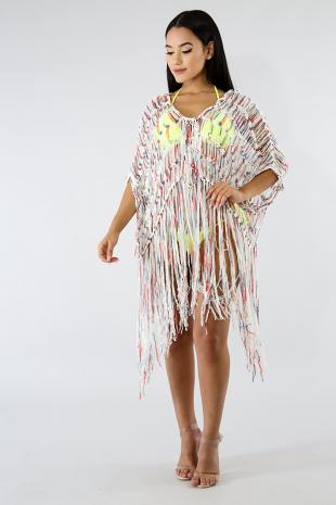 Shreds Kimono Top
