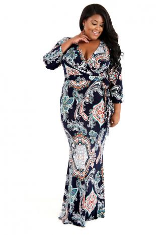 Stretchy Brown Mermaid Soft Maxi Dress