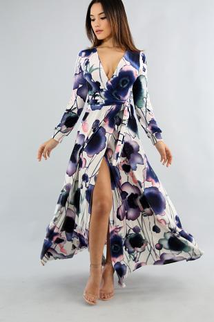 Floral Rush Maxi Dress