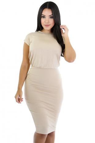 Beauty Open Back dress