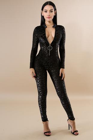 Dalmata Glitter Jumpsuit