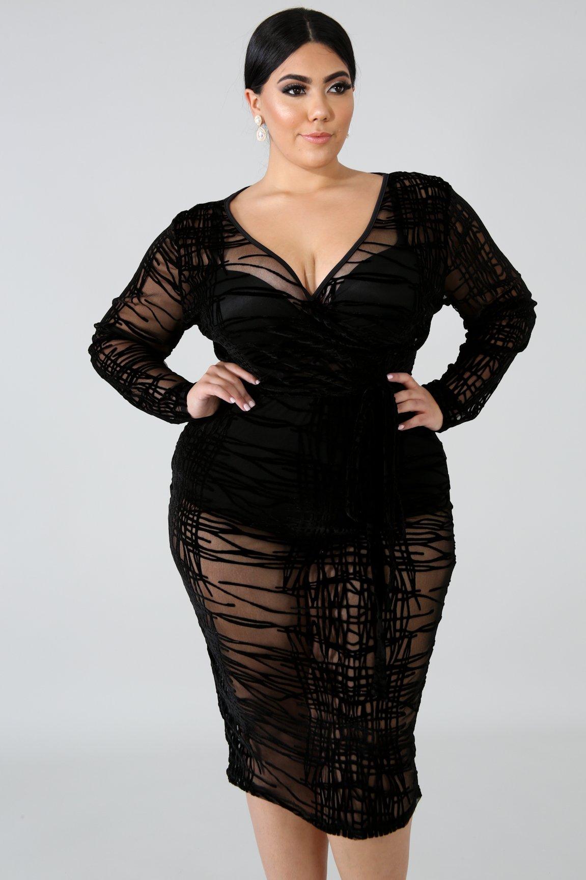 Street Suede Body-Con Dress