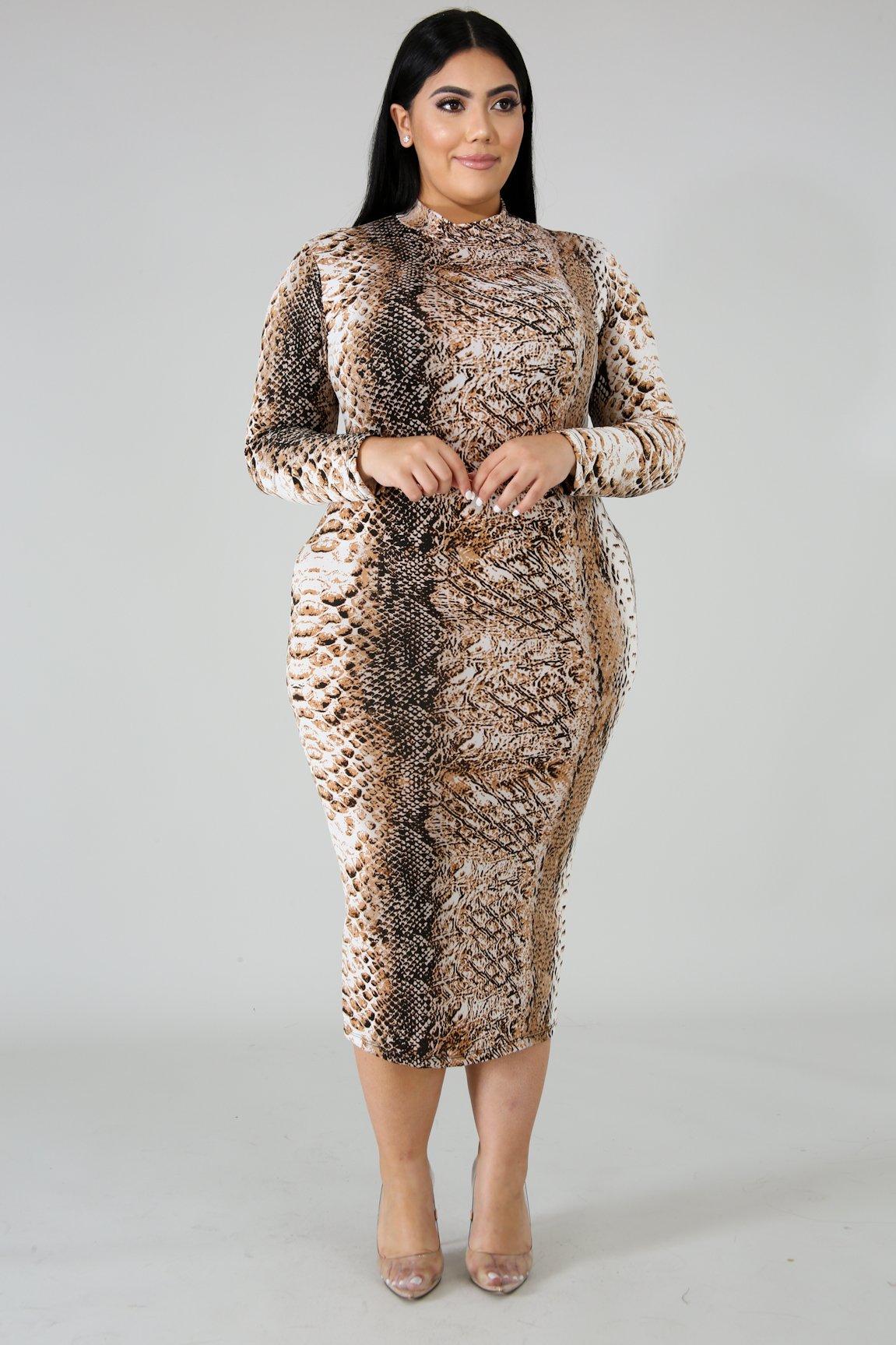 Tasty-Ness Body-Con Dress