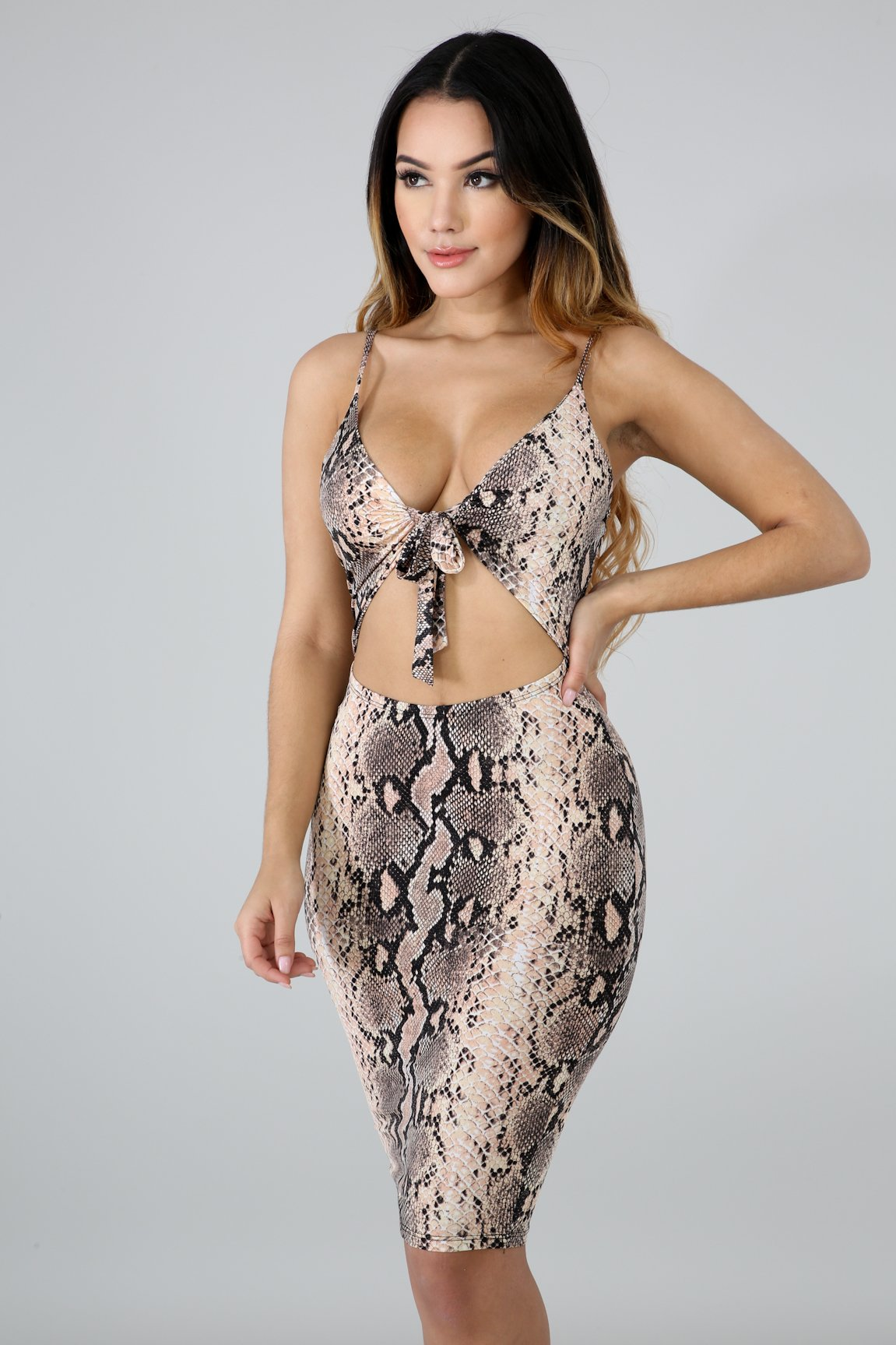 Savage Body-Con Dress
