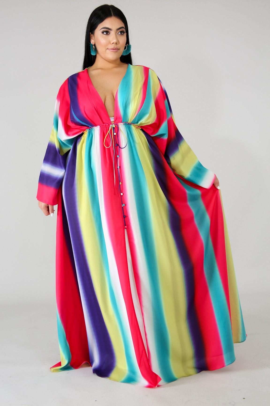 Sweet Palate Maxi Dress