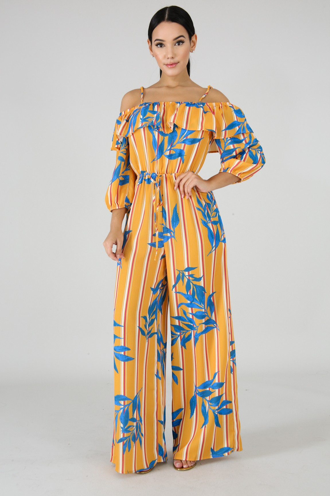 Falling Leaves Jumpsuit