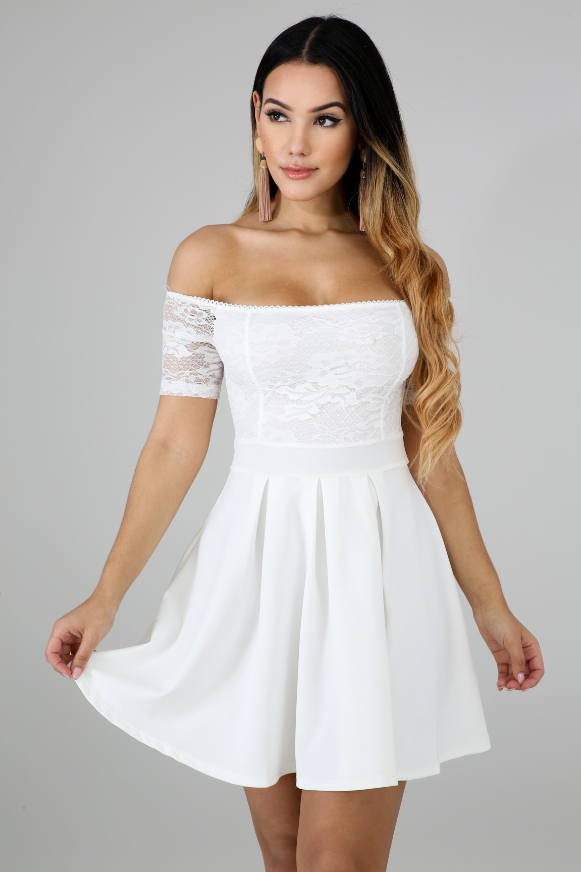 Flirty Lace Dress