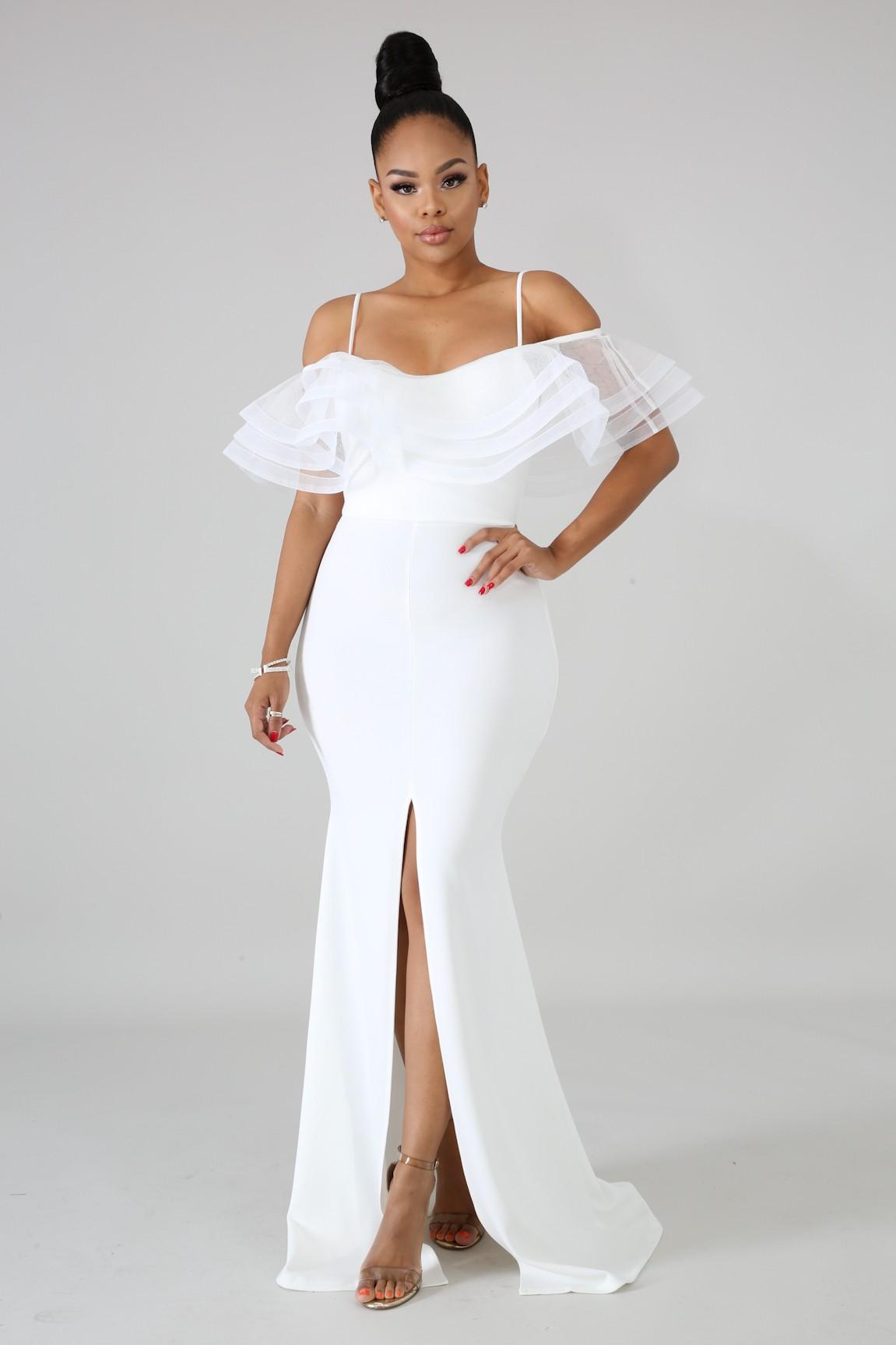 Swirl Glam Mermaid Dress