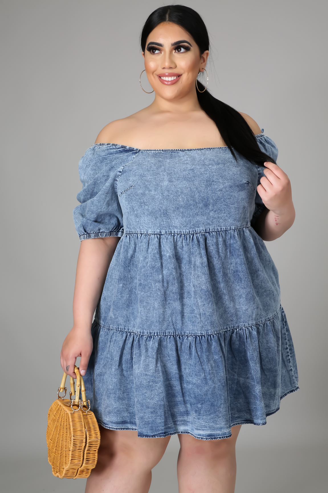 Can't Deny This Denim Dress