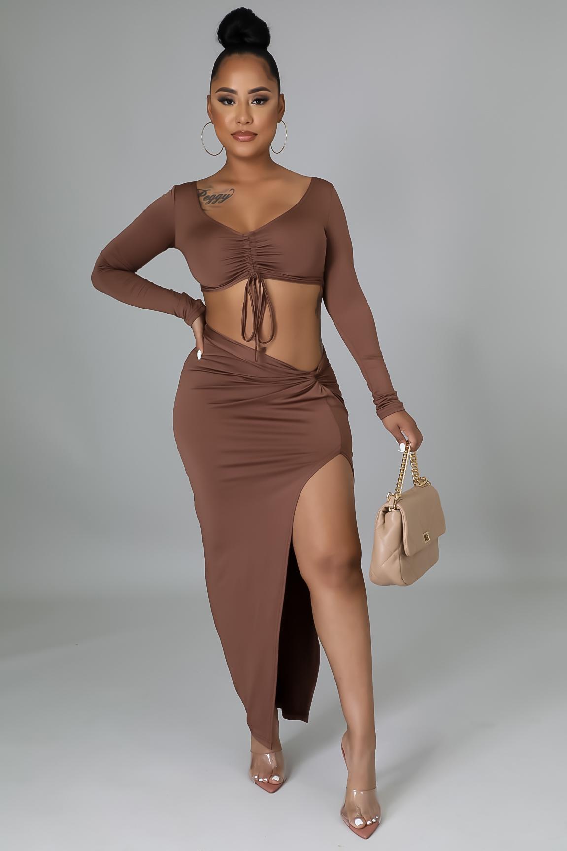 Just A Friend Skirt Set