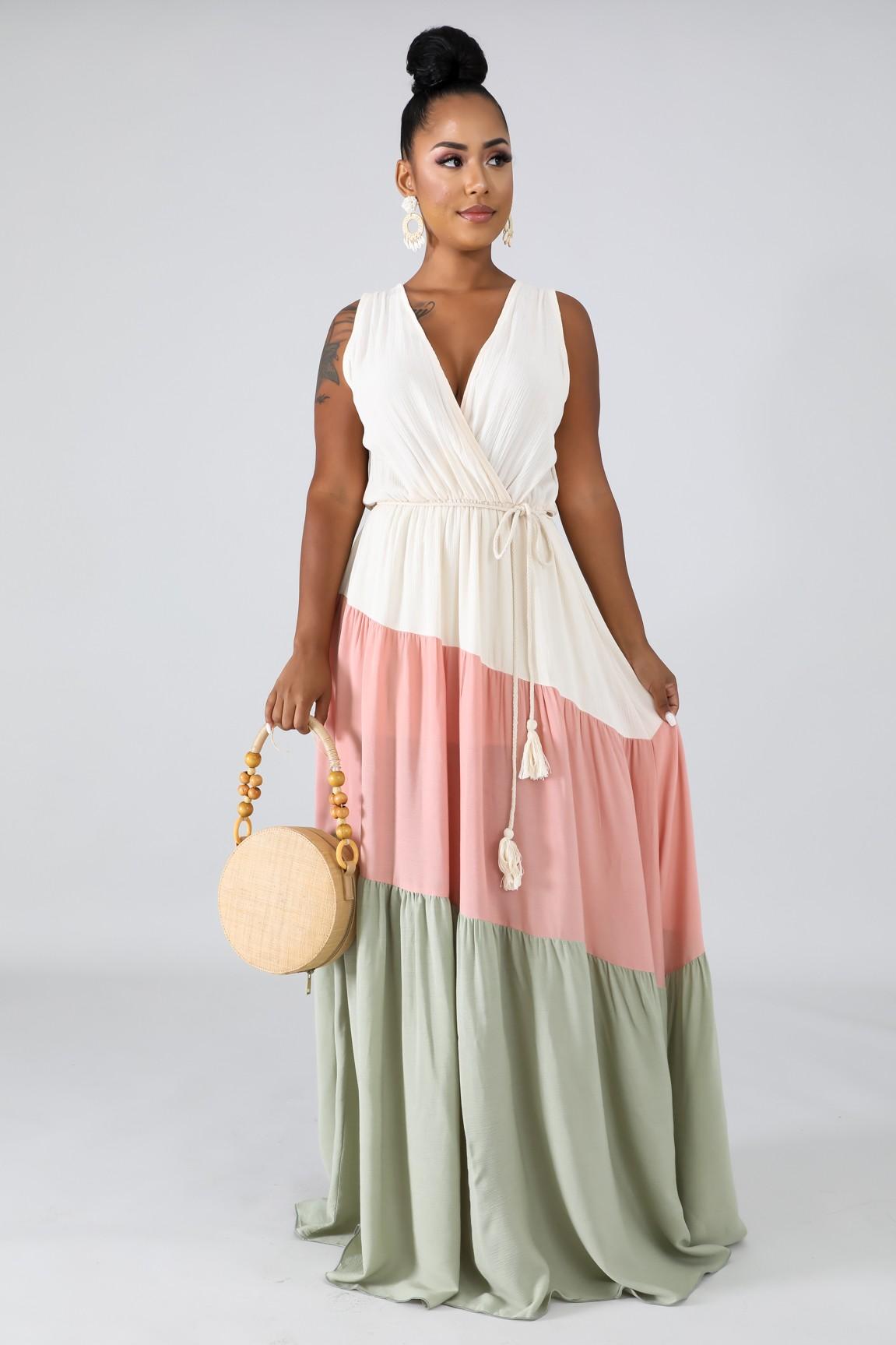 Ocean Dreams Maxi Dress
