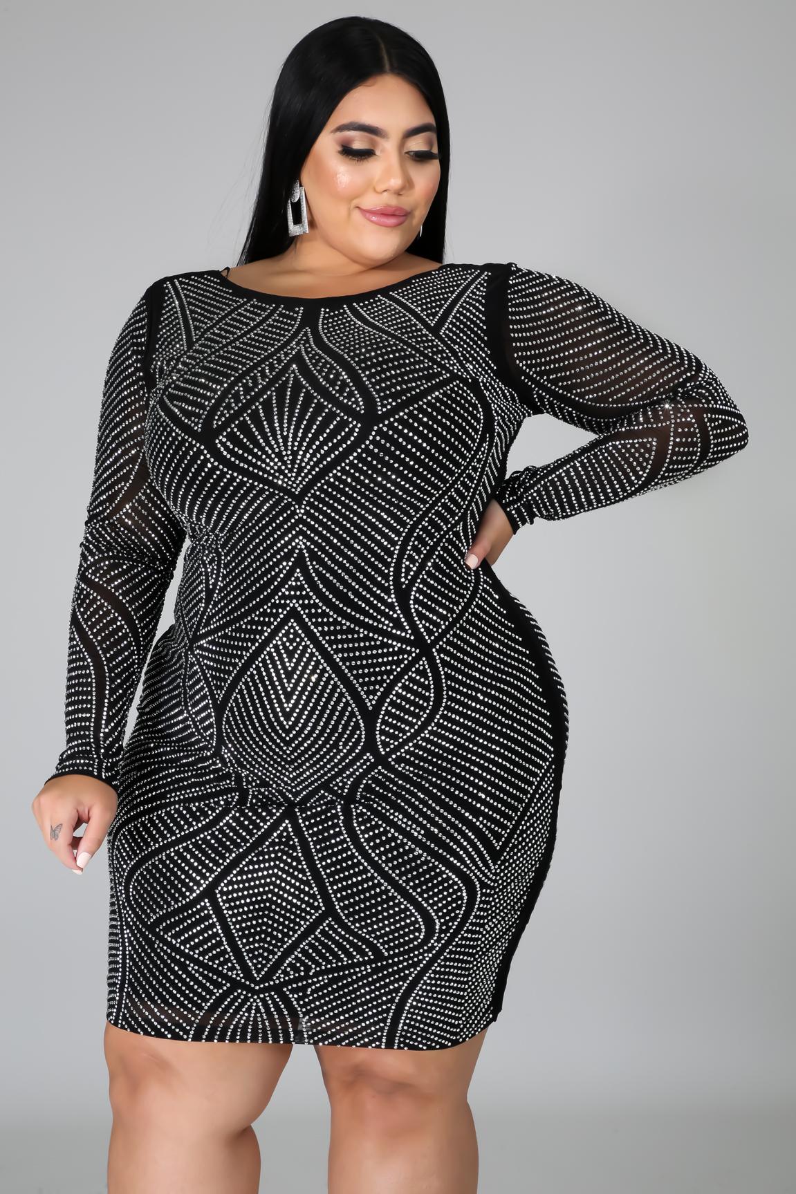 Hit The Club Dress