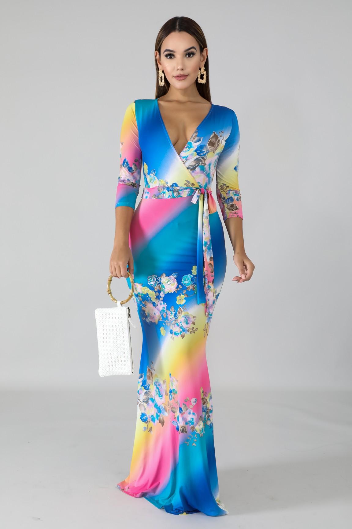 Porcelain Mermaid Dress