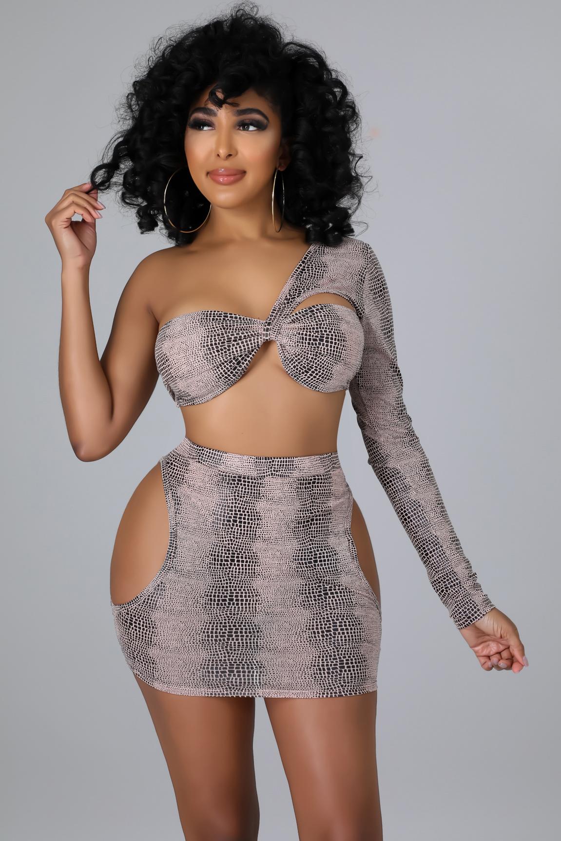 Joella Skirt Set