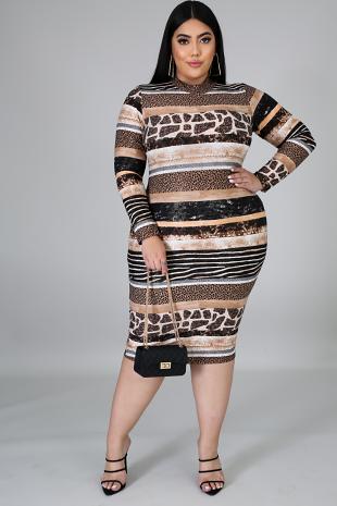 GItit Sassy Bodycon Dress