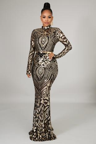 Glamorous Mermaid Dress