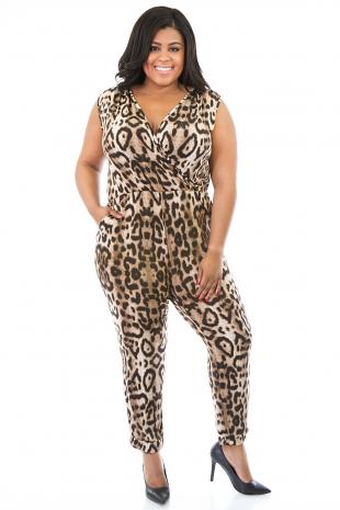 Leopard Rumple Jumper