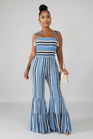 Accordion Bell Jumpsuit