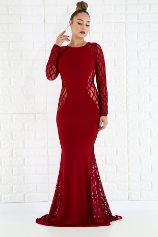 Glamorous Fall Maxi Dress