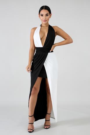 Two Tone Dress