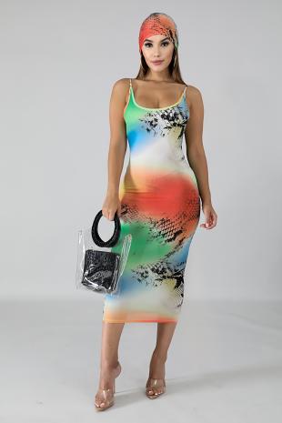 Attitude Midi Dress