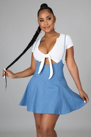 Kaylen Overall Skirt