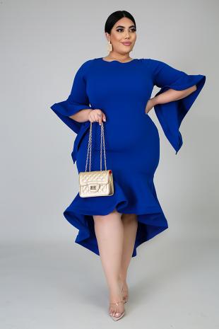 Swirling Maxi Dress