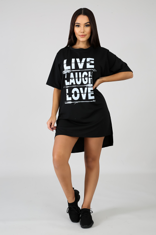 Live Laugh Love Tunic