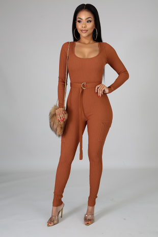 So Ribbed Jumpsuit